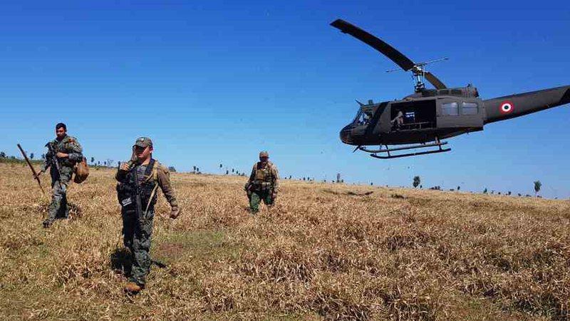 Operação faz diligências aéreas e terrestres em fazendas clandestinas de produção de maconha - Senad