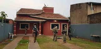 Escritório do crime foi fechado na tarde deste domingo por agentes da Senad e da Polícia Federal - Senad